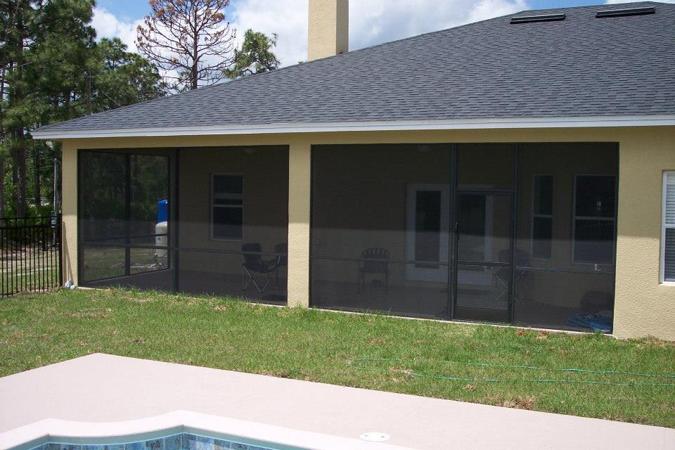 screened porch lake nona southeastern aluminum